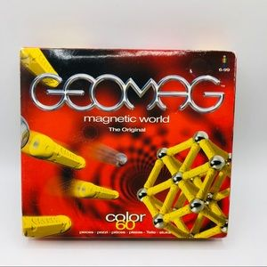 Geomag  Magnetic Building set 42 pieces  green
